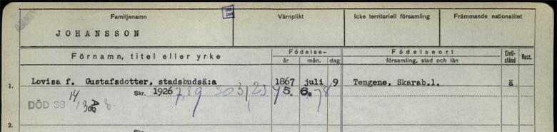 Svante Classon, 56 r i Grstorp p Tengene Tingstaden 2